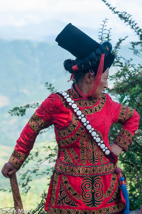 China,Funeral,Hat,Sichuan,Yi, photo