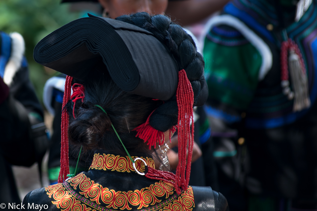 China,Earring,Festival,Hat,Sichuan,Yi, photo