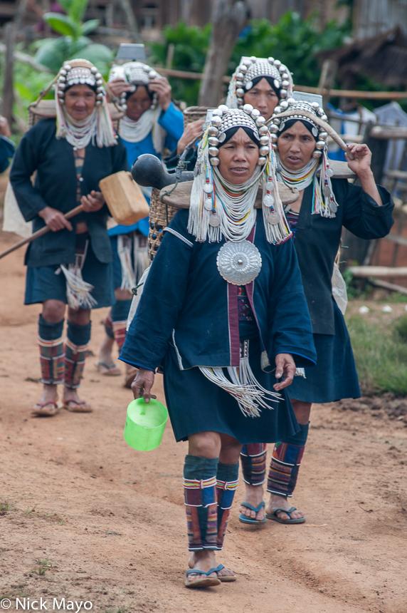 Breastpiece,Burma,Hani,Headdress,Leggings,Necklace,Shan State, photo
