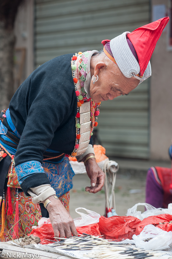 China,Market,Yao,Yunnan, photo