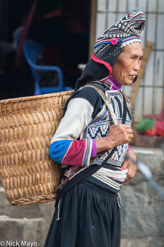 China,Hat,Market,Yi,Yunnan, photo