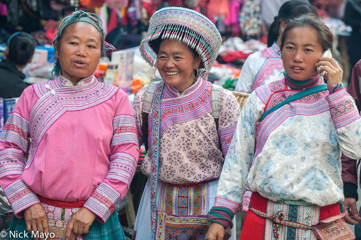 China,Earring,Hat,Miao,Yunnan, photo