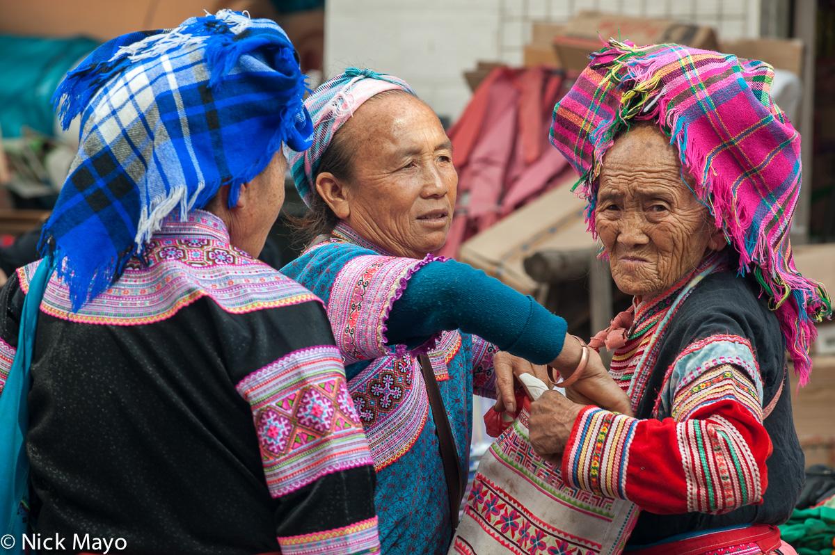 Bag,China,Market,Miao,Yunnan, photo