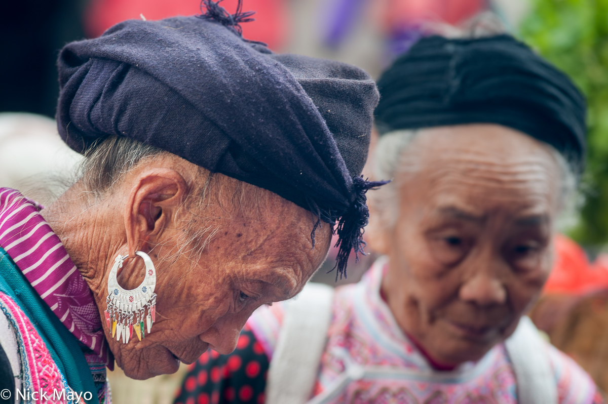 China,Earring,Miao,Turban,Yunnan, photo