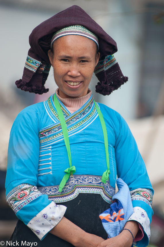 China,Hat,Yunnan,Zhuang, photo