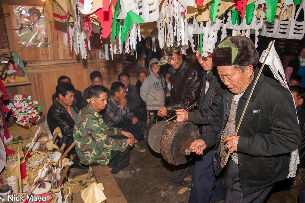 Bell,China,Drumming,Dujie,Yao,Yunnan, photo