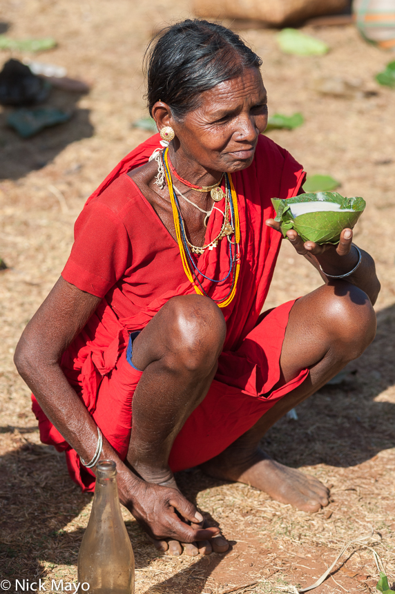 Bracelet,Chhattisgarh,Drinking,Earring,Gond,India,Mahuli,Market,Necklace, photo