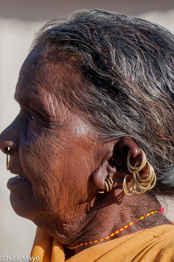 Earring,India,Kondha,Nose Ring,Orissa, photo