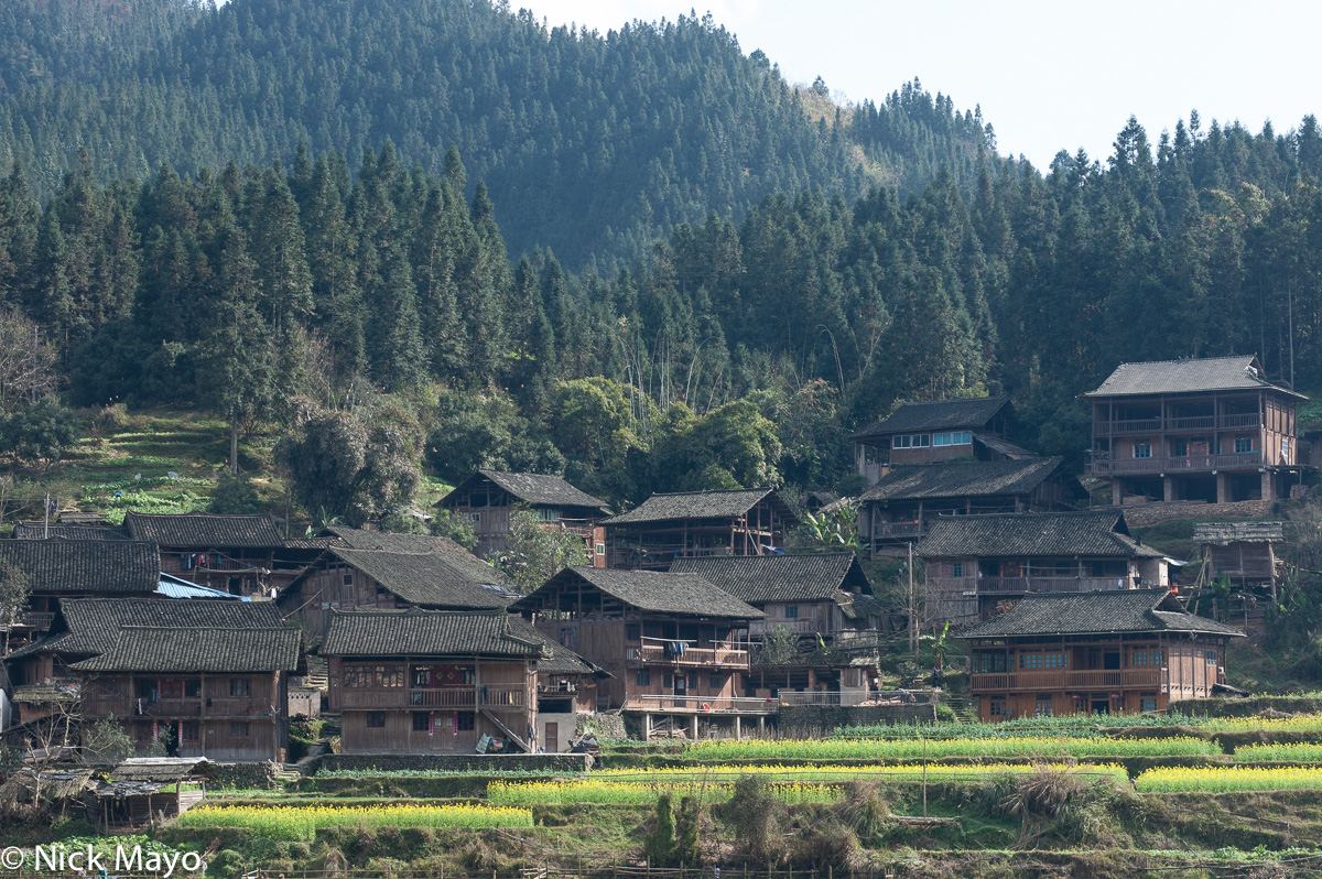 A traditional village near Bakai.