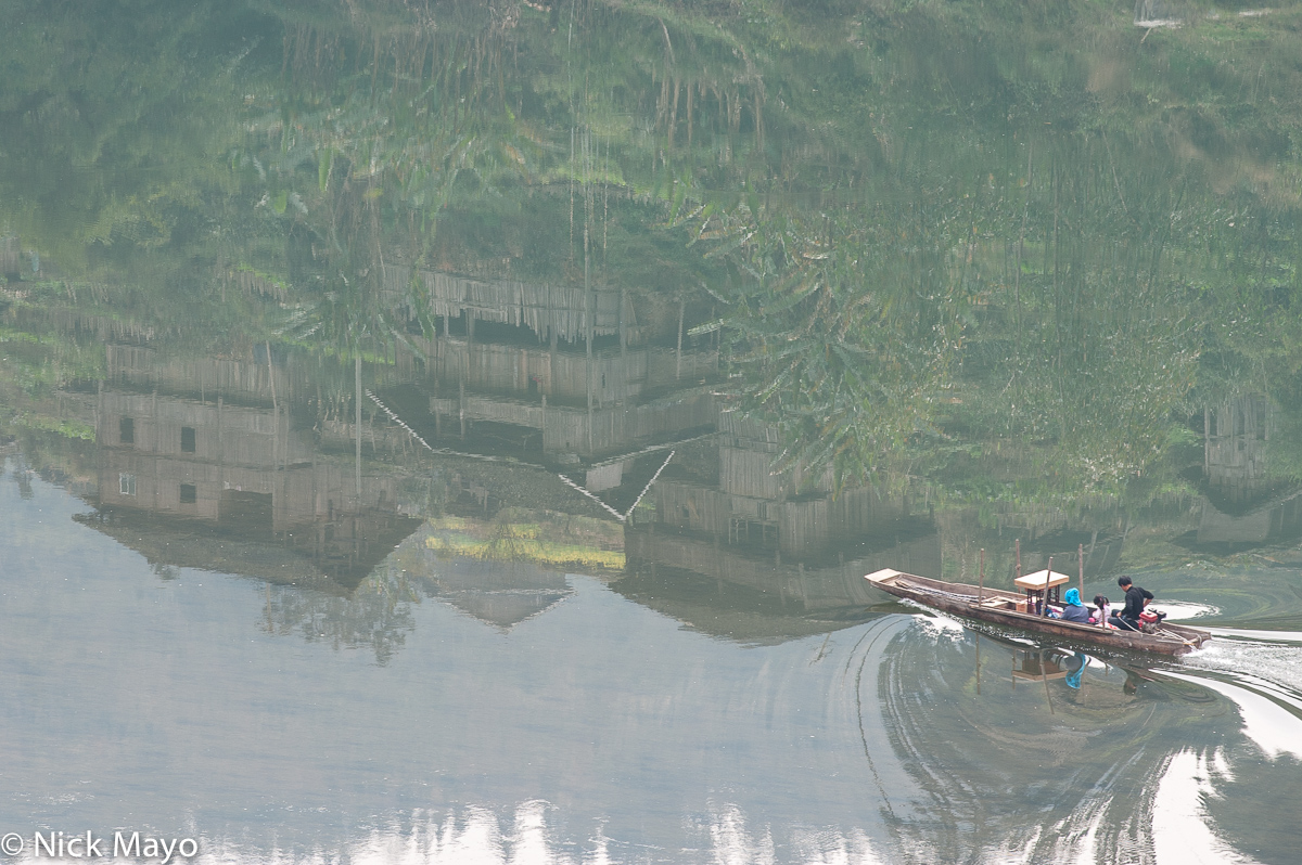 Boat,China,Guizhou, photo