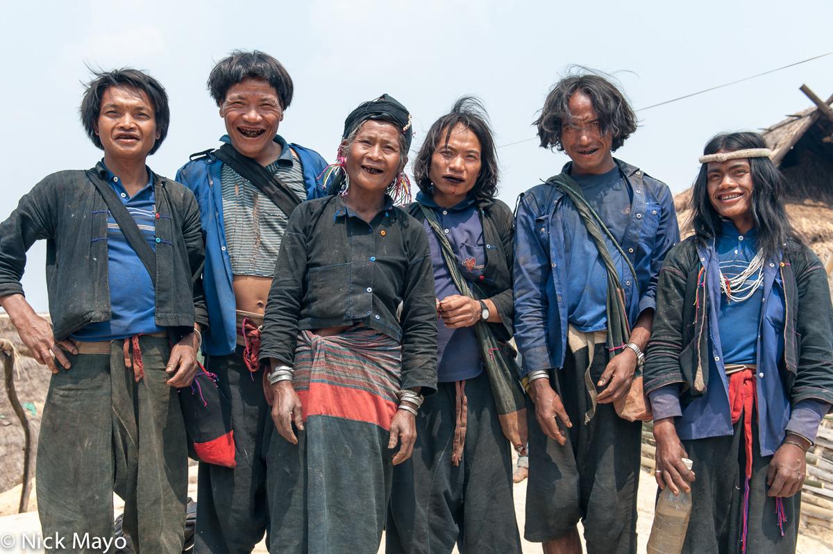Bag,Burma,Eng,Hair,Hat,Shan State,Teeth, photo