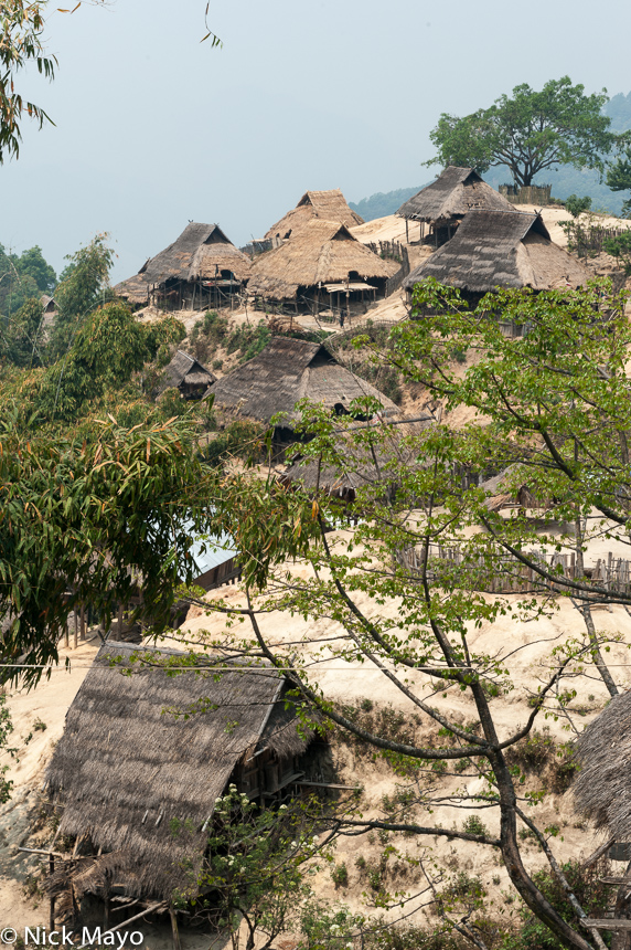 Burma,Shan State,Thatch,Village, photo