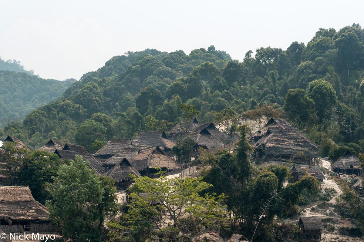 Burma,Shan State,Thatch,Village, photo