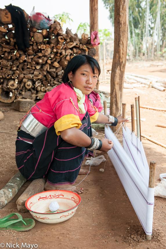 Bracelet,Burma,Palaung,Shan State,Waist Hoops,Warp Thread, photo
