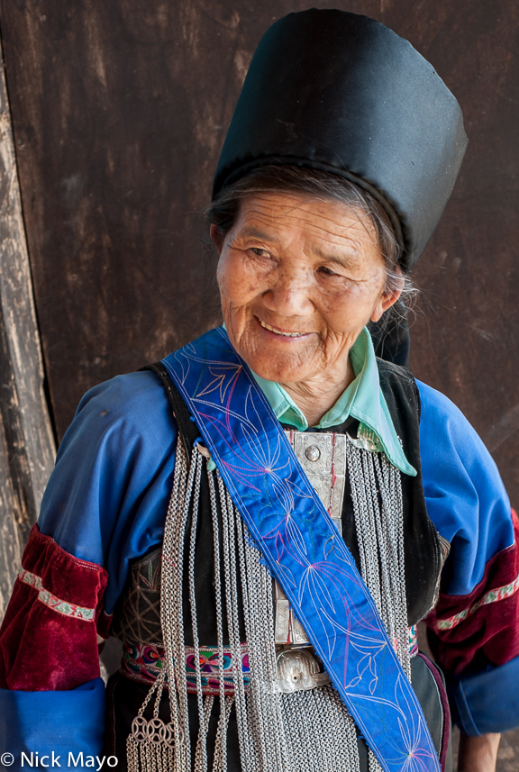 Breastpiece,Burma,Hat,Lisu,Shan State, photo