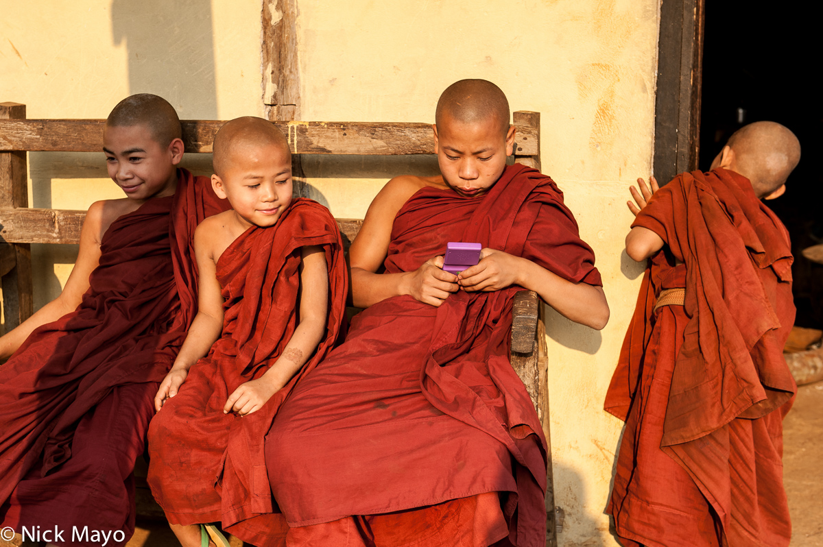Burma,Monk,Palaung,Shan State, photo