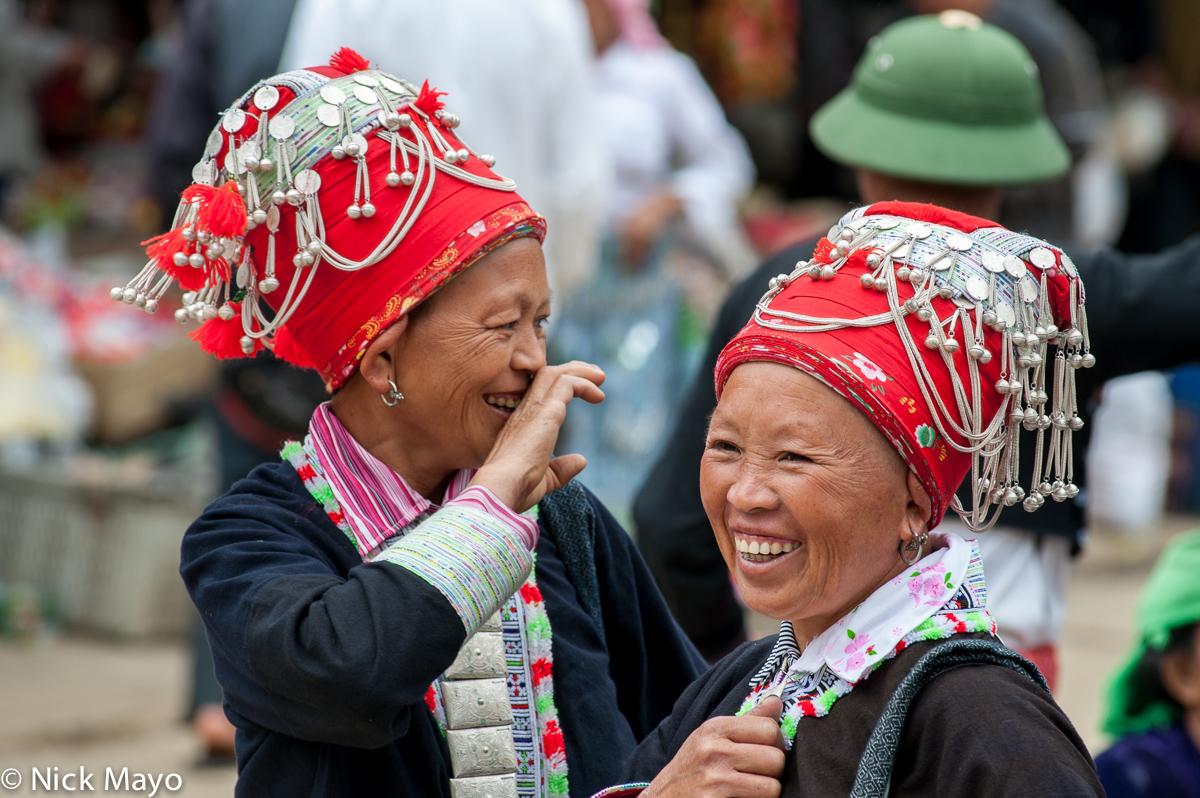 Earring,Hat,Lao Cai,Vietnam,Yao, photo