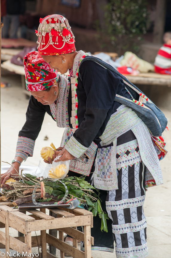 Lao Cai,Market,Shopping,Vietnam,Yao, photo