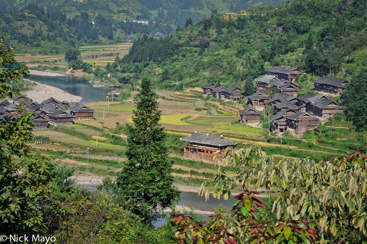 China,Guizhou,Paddy,Village, photo