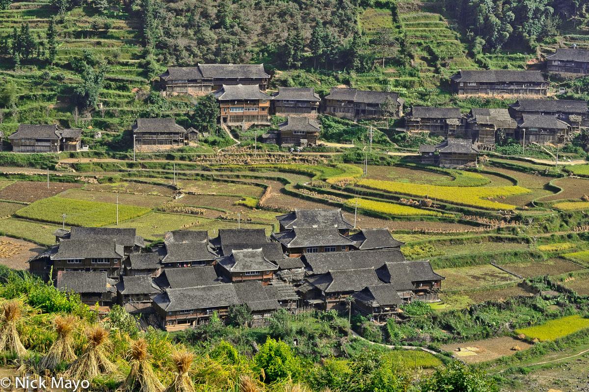 China,Guizhou,Paddy,Village, photo