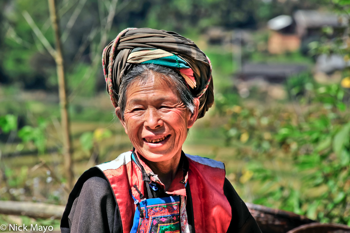 China,Lisu,Turban,Yunnan, photo