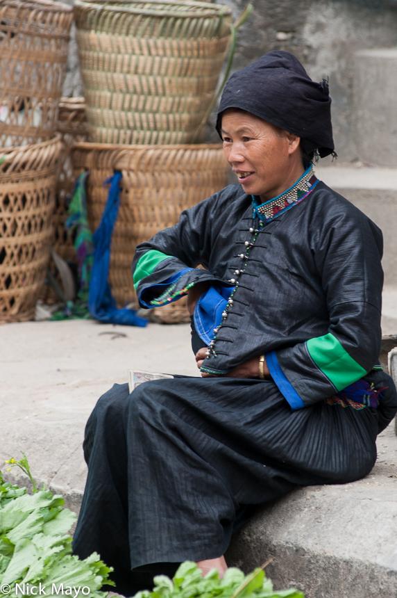 Ha Giang,Head Scarf,Market,Nung,Selling,Vietnam, photo