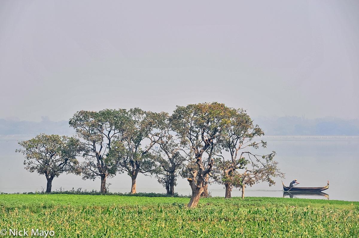 Boat,Burma,Mandalay Division, photo