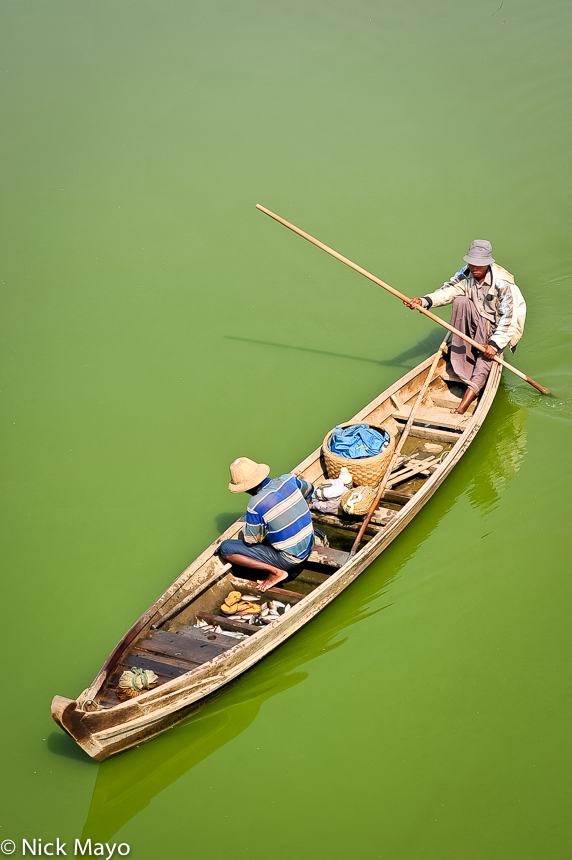 Boat,Burma,Mandalay Division, photo