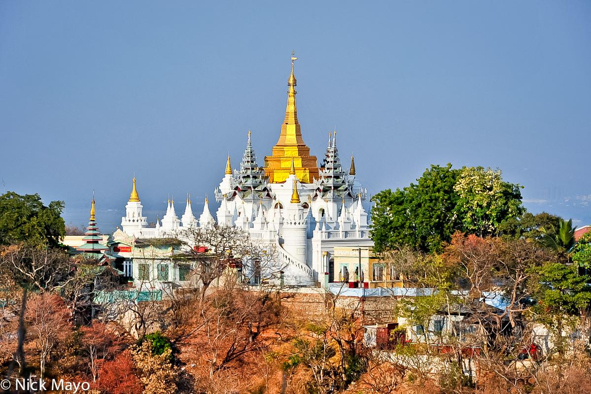Burma,Sagaing Division,Stupa, photo