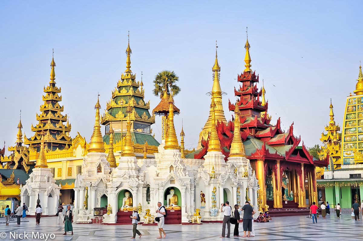 Burma,Rangoon Division,Shrine,Stupa, photo