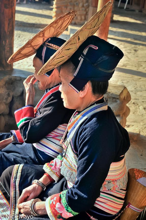 China,Dai,Festival,Hat,Yanggan,Yunnan, photo