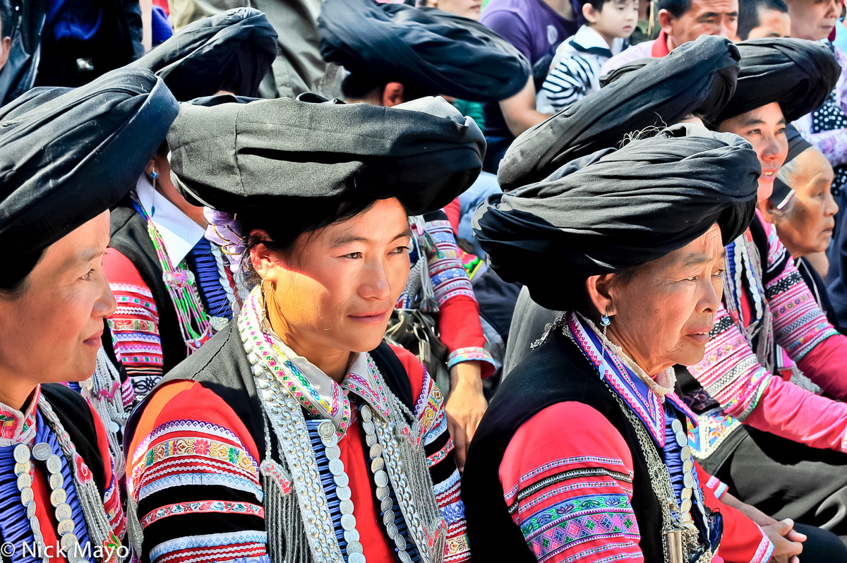 China,Festival,Turban,Yi,Yunnan, photo