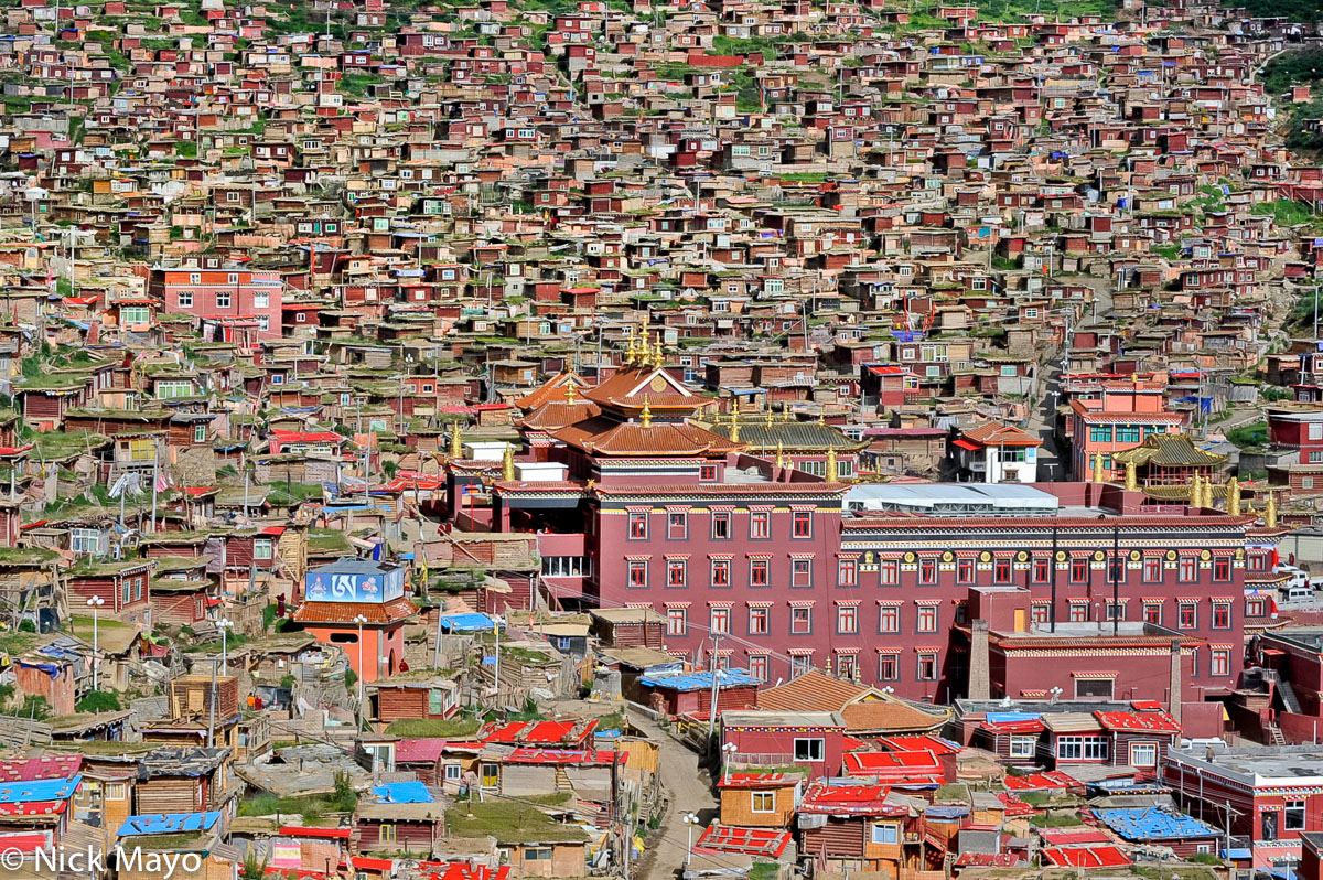 China,Monastery,Sichuan,Village, photo
