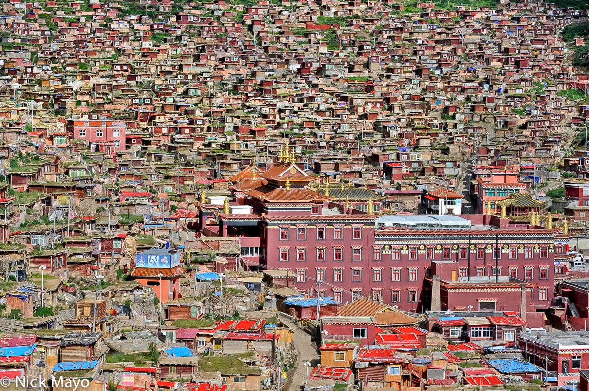China,Monastery,Sichuan,Village, photo