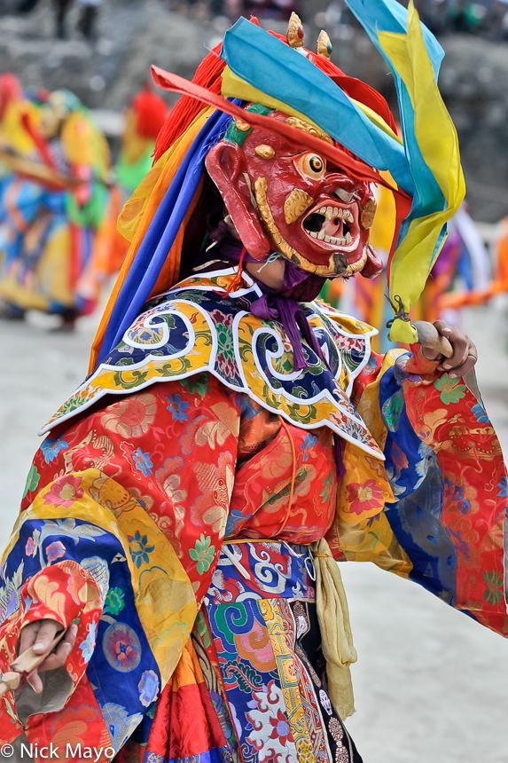 China,Festival,Mask,Sichuan,Tibetan, photo