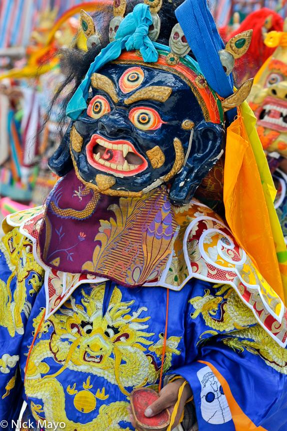 China,Dancing,Festival,Mask,Sichuan,Tibetan, photo