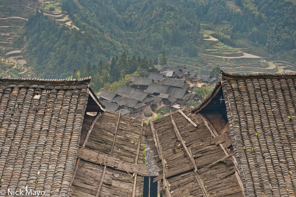 China,Guizhou,Roof,Village, photo