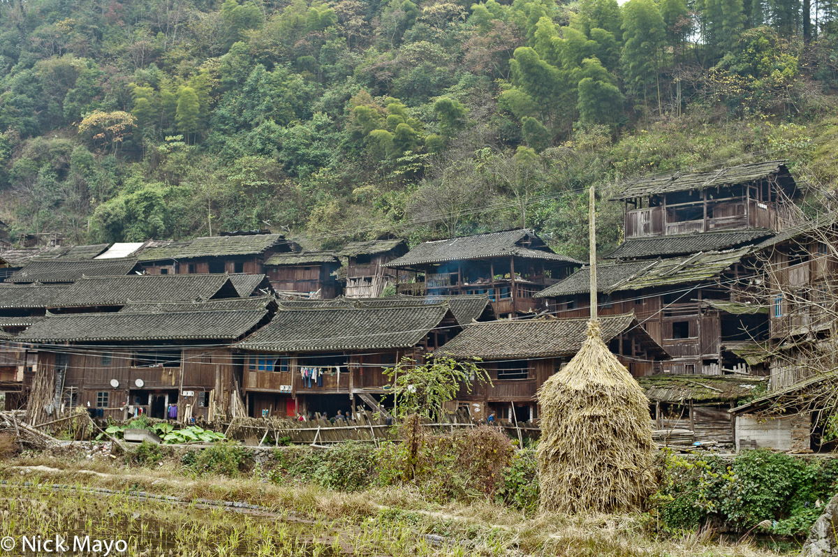 China,Guizhou,Haycock,Village, photo