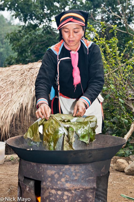 China,Cooking,Hat,Wok,Yao,Yunnan, photo