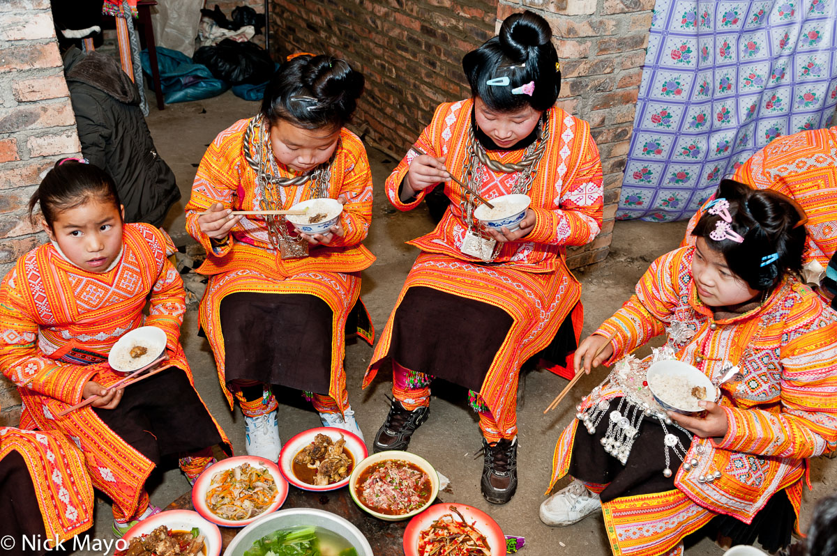 China,Eating,Guizhou,Miao,Rice,Wedding, photo