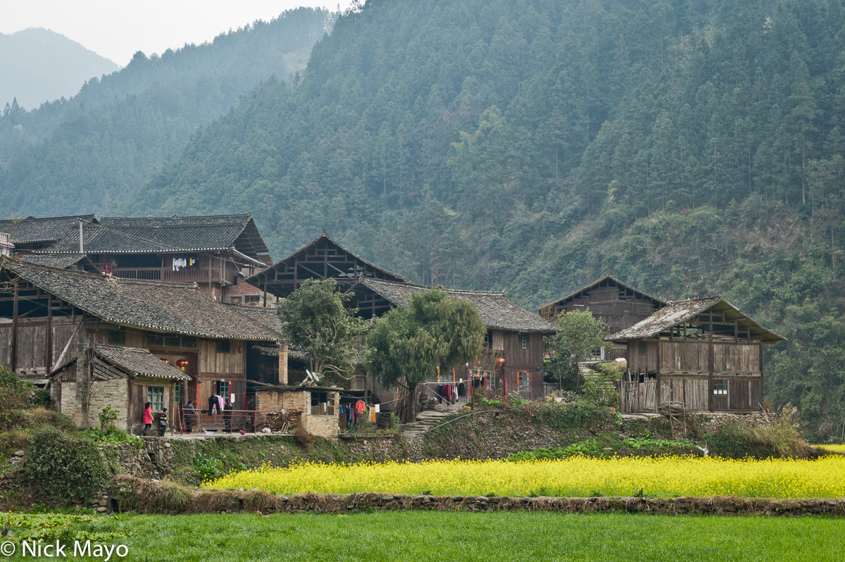 China,Guizhou,Village, photo