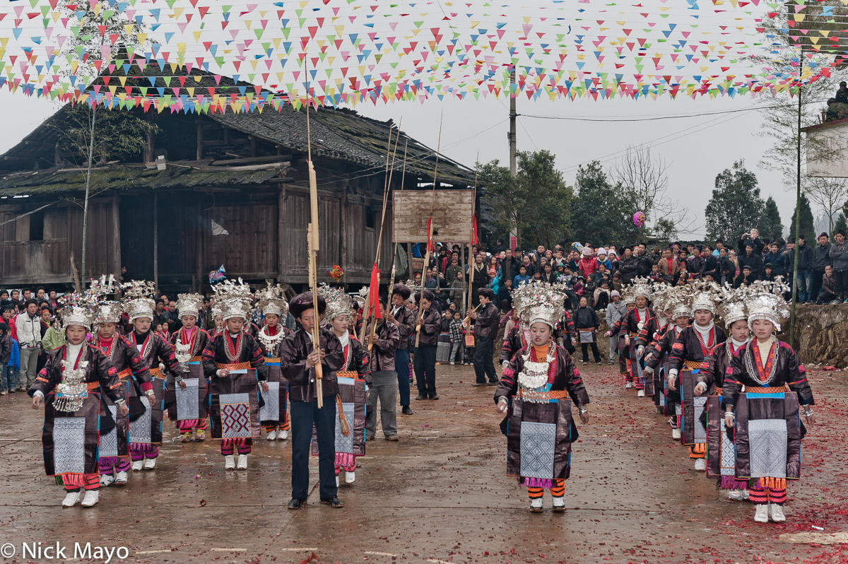 China,Dancing,Festival,Guizhou,Miao,Piping, photo