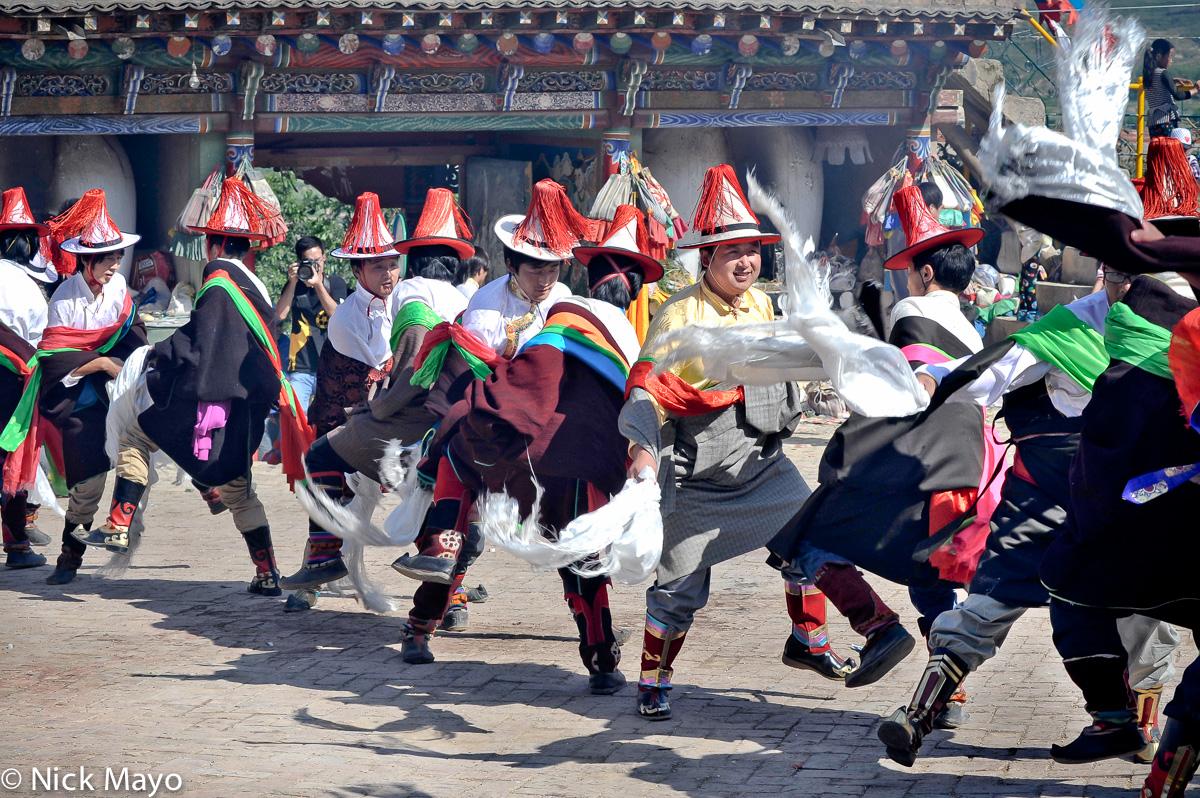 China,Dancing,Festival,Kata,Qinghai,Tibetan, photo