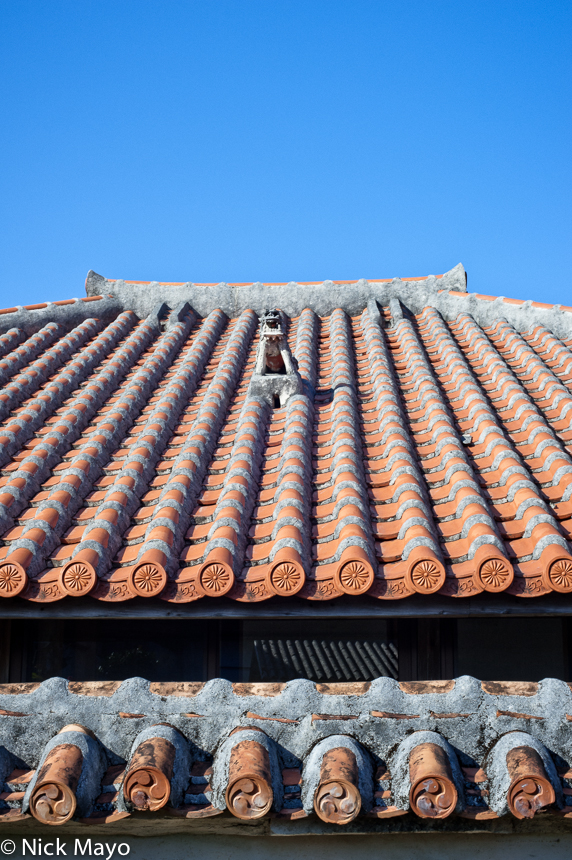 Japan,Roof,Ryukyu Islands, photo
