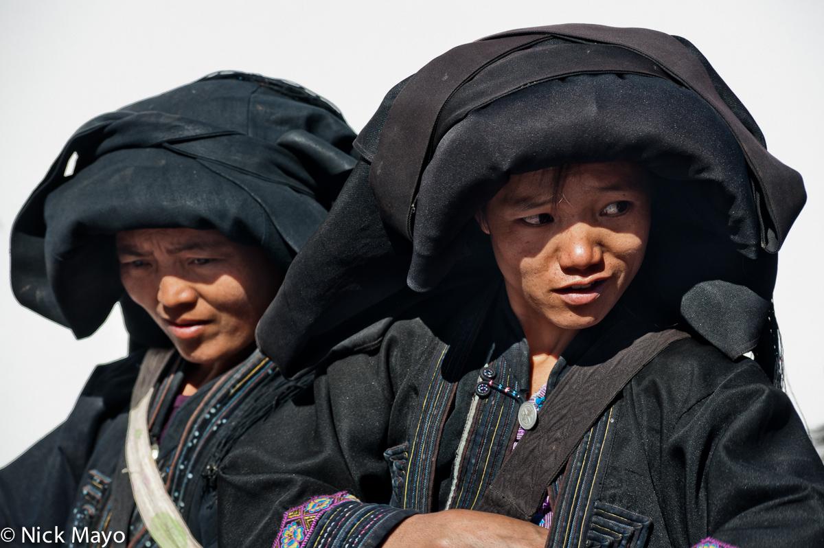 Two Limi Yi women in Wumulong.