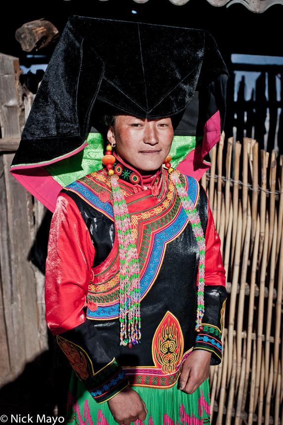 China,Earring,Hat,Yi,Yunnan, photo