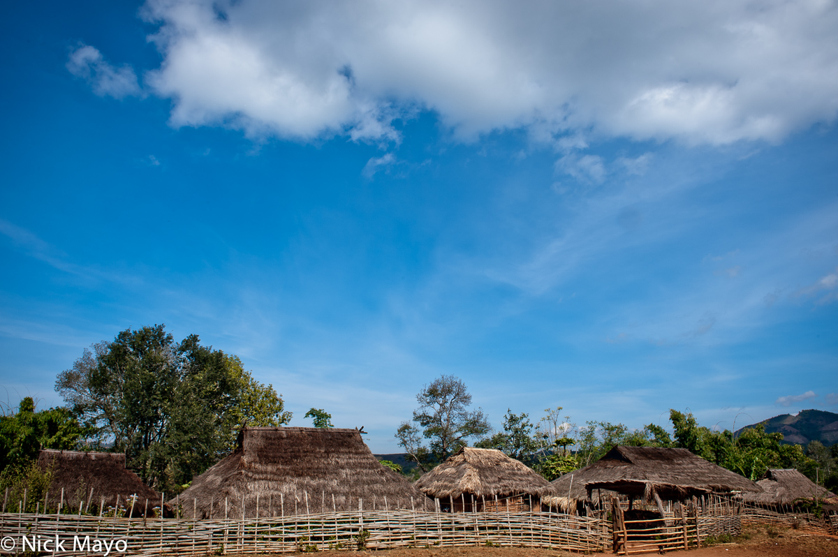 Burma,Residence,Shan State,Thatch,Village, photo
