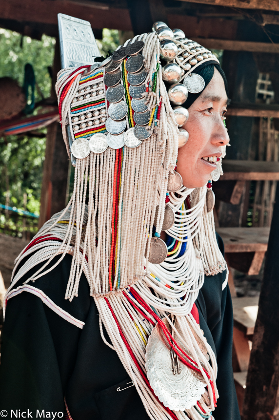 Breastpiece,Burma,Hani,Headdress,Necklace,Shan State, photo