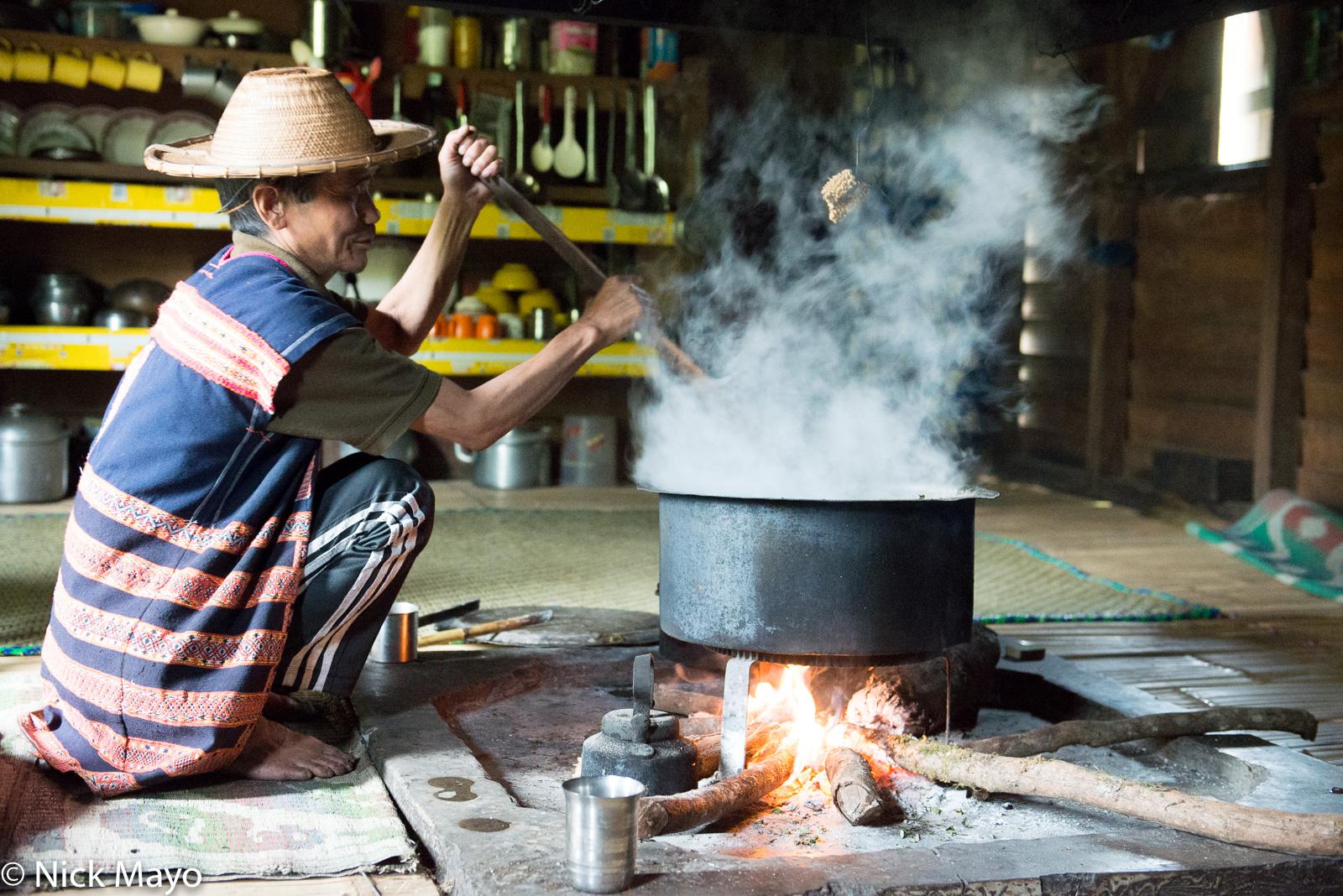 Arunachal Pradesh, Cooking, Hearth, India, Mishmi, photo