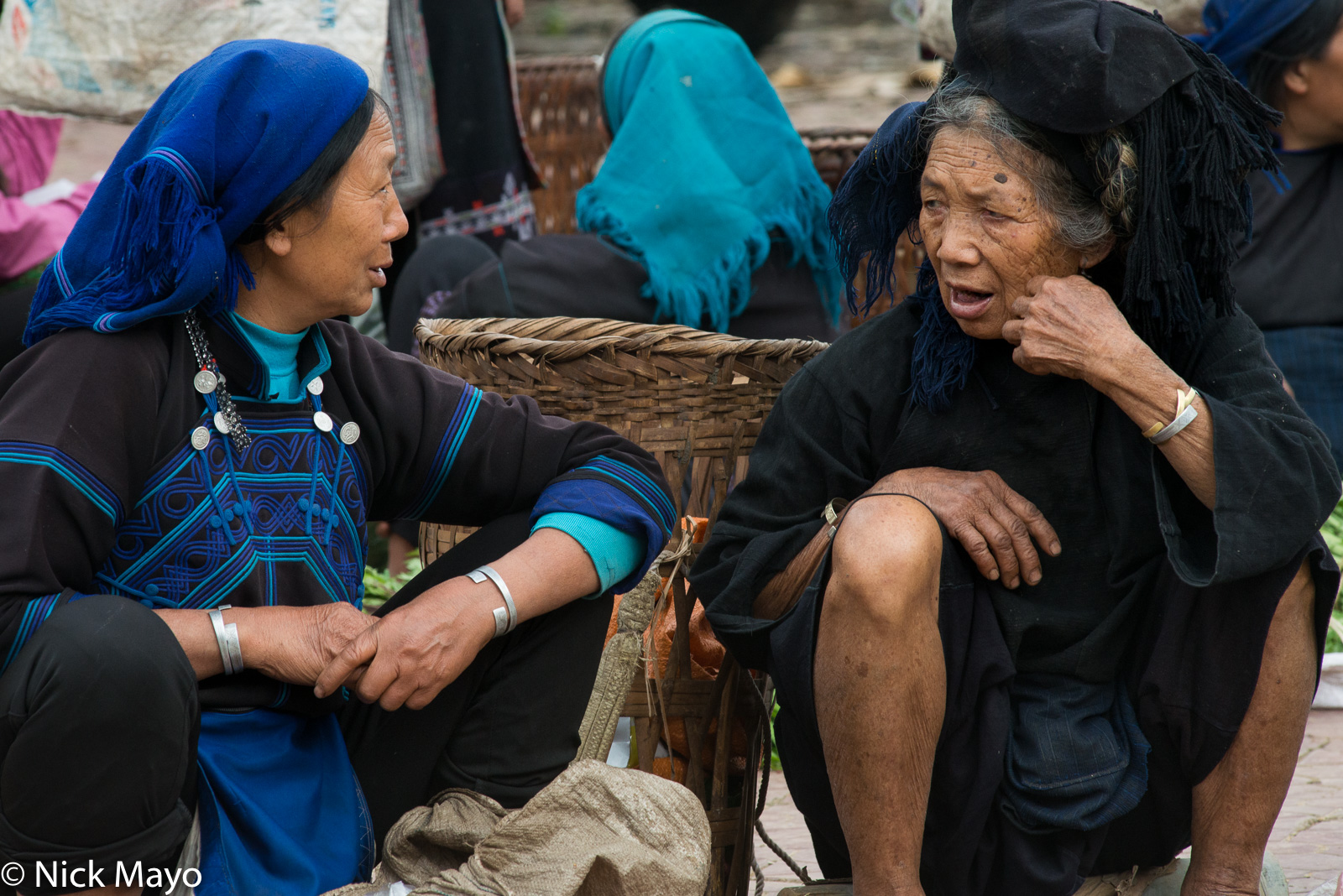 Hani, Lao Cai, Market, Vietnam, photo